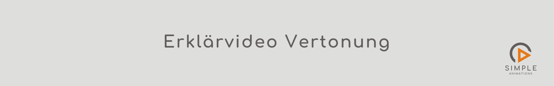 Erklaervideo Vertonung Tonaufnahme Simple Animations