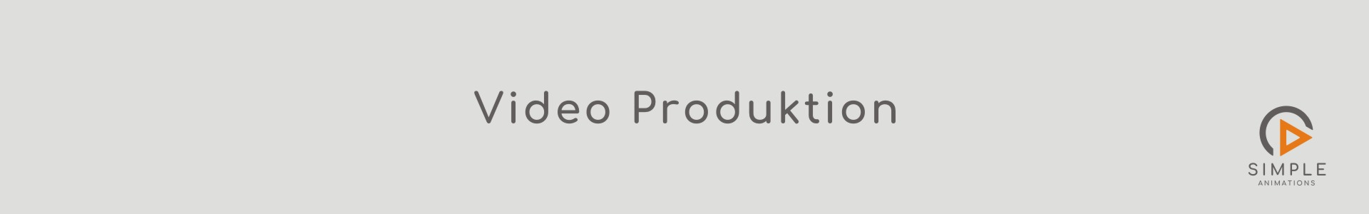 Video Produktion Simple Animations